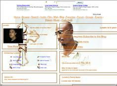 tupac myspace  layouts